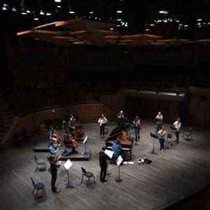 Victoria Symphony musicians.
