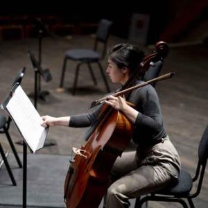 Cellist Hannah Craig.