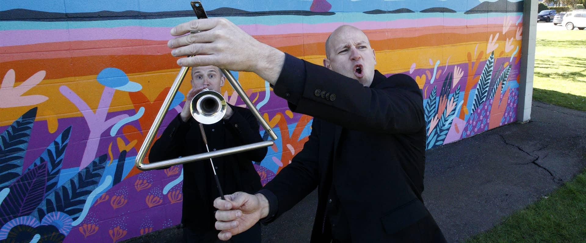 Percusion - percussion and trumpet - Victoria Symphony