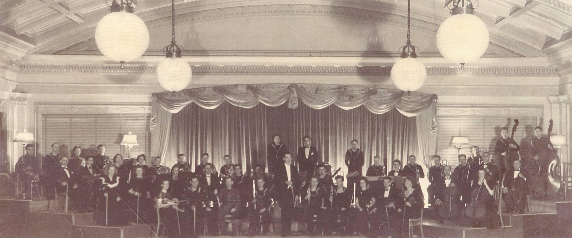 Victoria Symphony circa 1942