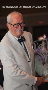 The late Hugh Davidson - Victoria Symphony supporter and friend