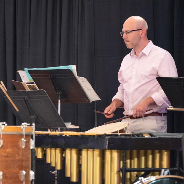 Principal Percussion - Karl Williams